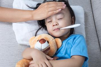 Febrile seizures (convulsions caused by fever)