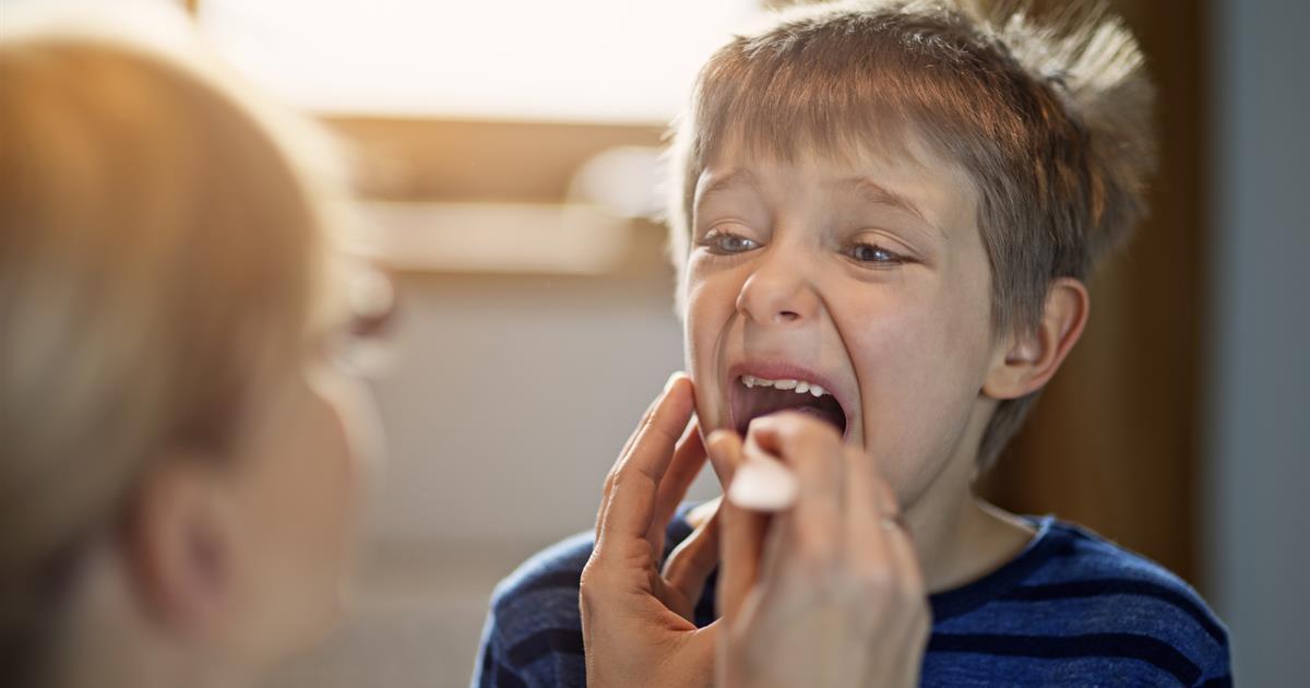 virus estreptococo sintomas en niños