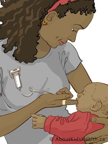 Finger Feeding Your Baby
