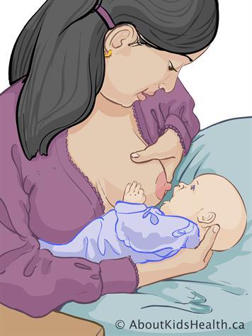 Allaitement : problème de mamelons douloureux