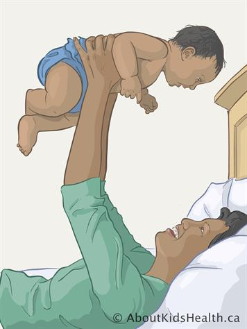 Tummy time: Helping your baby